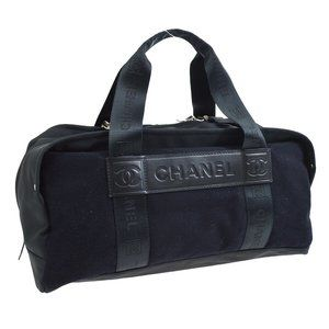 CHANEL Sport Line CC Boston Hand Bag 9268910 Purse
